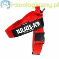 JULIUS K9 Szelki dla psa pasowe czerwone rozmiar: 2