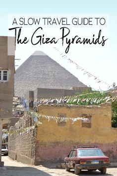 If you pay them a longer visit, the #pyramids offer a very powerful experience that will leave you with many questions. #Giza #Egypt #AncientEgypt #Travel #SlowTravel