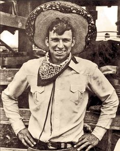 """When Louis Lindley Jr. dropped out of high school at 16 to join a rodeo, he called himself """"Slim Pickens"""" so his father wouldn't see his name on the entry lists. In 1950, after 20 years of getting gored by bulls, thrown by horses and suffering injuries that included a crushed chest and a twice-broken back, Pickens was spotted at a rodeo by Director William Keighley, who offered the cowboy a screen test that began his career in movies. – True West Archives –"""