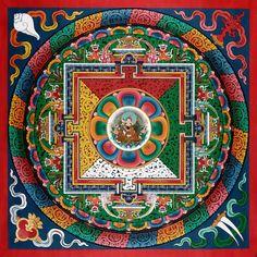 Guru Rinpoche Mandala