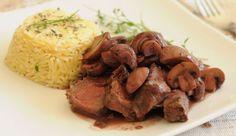 Gourmet, el placer de comer bien » Lomo con Salsa al Vino