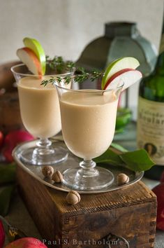 Chai Normandy Cocktail