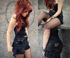 Love the high waisted jeans, not so crazy about the top... But love it other than that!