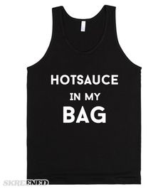 hotsauce in my bag #Skreened