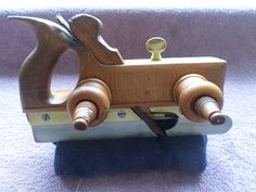 Cowell And Chapman Handled Screw Stem Plough Plane c1859~1900 Free Shipping Worldwide by RoseCollectable on Etsy Antique Tools, Plane, Door Handles, Free Shipping, Antiques, Unique Jewelry, Handmade Gifts, Etsy, Vintage