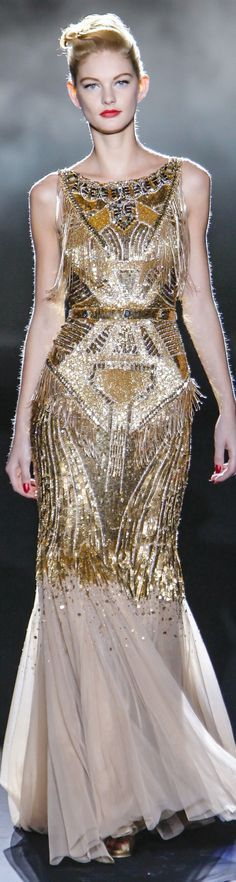 Badgley Mischka Collections Fall Winter 2013-14 collection gold by Janny Dangerous