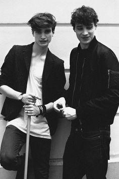 Alexander Ferrario and Adrien Sahores by Jiès Cléodore | SS14 Menswear Casting - Paris