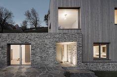 Krananwendter House by LP Architektur (1/3) #teamarchi #pin #architecture #architectureporn #stone #wood