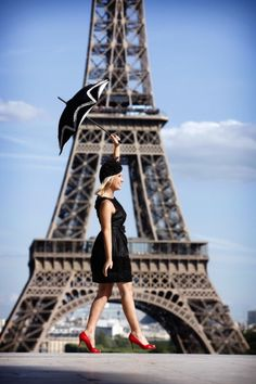 I want to do a photoshoot in Paris!