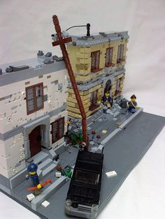 The Streets of Hope #street #moc