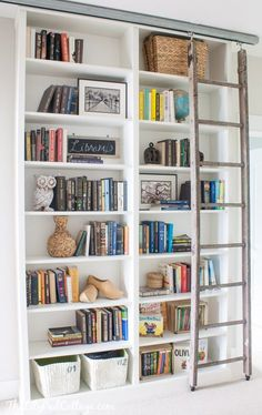 New Ikea Rolling Library Ladder