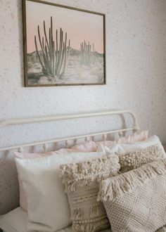 Blake's Room / Bohemian White and Pink Girl's Room