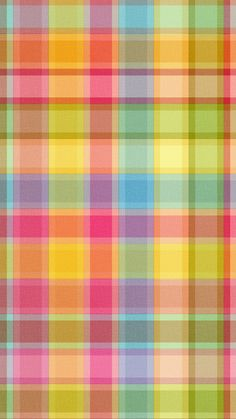 ↑↑TAP AND GET THE FREE APP! Pattern Checkered Colorful Cool Multicolored HD iPhone 6 plus Wallpaper