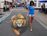 pavement art