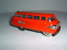 Varianto Bus 3044 Car Germany U s Zone Schuco Vintage Tin Toy Wind Up 1950s
