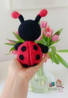 52 Ideas Crochet Amigurumi Cute Christmas Trees For 2019 Easy Crochet Animals, Crochet Animal Patterns, Crochet Bear, Amigurumi Patterns, Free Crochet, Knitted Dolls, Crochet Dolls, Crochet Crafts, Crochet Projects