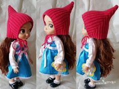 대바늘 모자 스텔라픽시 요정모자 뜨기 (도안,뜨는법) : 네이버 블로그 Crochet Hats, Dolls, Knitting, Fashion, Tejidos, Knitting Hats, Baby Dolls, Moda, Tricot