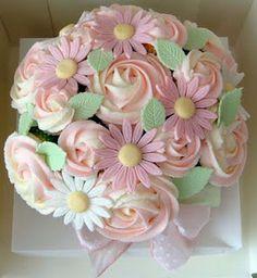 Cupcake Bouquet...how do you make the daisy?