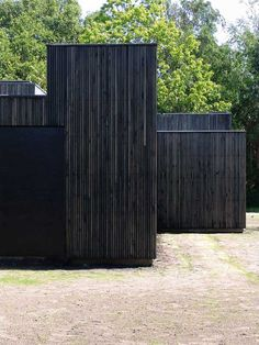 Skybox House by Primus architects in denmark great vertical black timber cladding. Timber Battens, Timber Cladding, Exterior Cladding, Cladding Ideas, Black Architecture, Amazing Architecture, Architecture Details, Wooden Facade, Black House