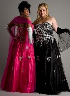 BBW in Ballgowns