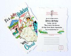 mary poppins invites