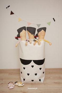 papaer bag #minkjuu #nonove #girl #kidsroom