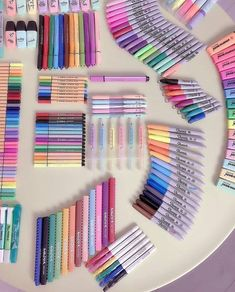 stationery💗 shared by sof✨//σοφία on We Heart It stationery💗 shared by sof✨//σοφία on We Heart It Always aspired to learn to knit, n. Cool School Supplies, Office Supplies, Cute Stationary School Supplies, School Suplies, Stationary Store, School Stationery, Desk Organization, Stationary Organization, Copics