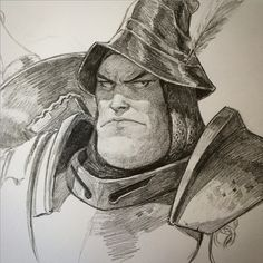 Aldebert Steiner - Final Fantasy IX by Dave Rapoza