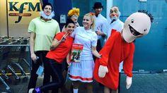 Diy best costume suske & wiske