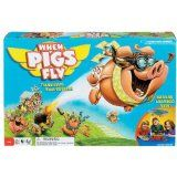 Kids will spin, laugh and squeal launching the flying pigs into sky and playing this fun board game together! Manufactured by Ideal. Recommended for 5 years, 6 years, 7 years, 8 years. Sleepover Crafts, Sleepover Games, Preschool Games, Fun Activities, Brain Teasers For Teens, Pig Games, Bored Games, Card Games For Kids, The Barnyard