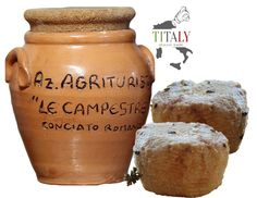 CONCIATO ROMANO GOAT CHEESE IN CLAY JARS WITH LIQUID SEASONING  Feature pack consists of everything you need to continue to mature the cheese Conciato Romano directly to your home using the same products and tools used by casario.
