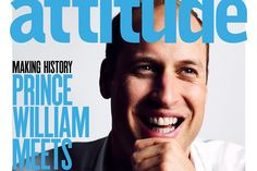 Príncipe William posa para popular revista LGBT do Reino Unido - Blue Bus