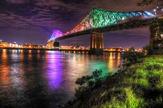 Colorful Jacques Cartier Bridge in Montreal City during Covid 19 Image Royalty Free Pictures, Royalty Free Stock Photos, Jacques Cartier, Property Rights, Pixel Image, Image Categories, Image Photography, Montreal, Bridge