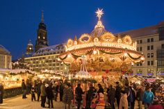 DRESDA - Striezelmarkt (Germania)