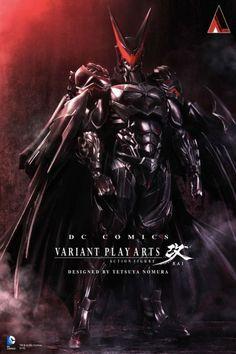 Comic-Conにてスクエニ野村氏デザインのバットマンフィギュアを展示、召喚獣のような見た目に | Game*Spark - 国内・海外ゲーム情報サイト