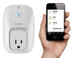 Belkin WeMo Home Automation Switch + Motion Sensor bundle for Apple iPhone, iPad, and iPod touch Electronic Gadgets For Men, Cool Tech Gadgets, Geek Gadgets, Gadgets And Gizmos, Awesome Gadgets, Cooking Gadgets, Electronic Devices, Home Automation System, Smart Home Automation