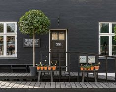 The Spotted Pig, Henrik Vibskov's first coffee shop in Copenhagen.