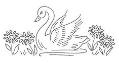 Vintage Embroidery Patterns NI 031 d Hungarian Embroidery, Bird Embroidery, Embroidery Transfers, Learn Embroidery, Silk Ribbon Embroidery, Hand Embroidery Patterns, Vintage Embroidery, Embroidery Stitches, Embroidery Sampler
