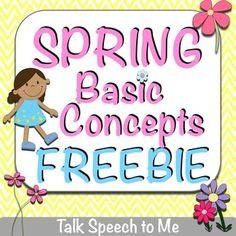 Spring Freebies – Free resources for speech and language — Super Power Speech Autism Activities, Language Activities, Activities For Kids, Speech Language Pathology, Speech And Language, Language Arts, Teachers Pay Teachers Free, Spring Theme, Spring Is Here