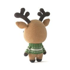 Rudolph The Reindeer Amigurumi Pattern