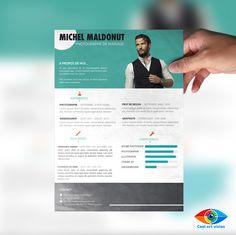 CV / Référence : #0CV4 Exemple de CV. Si vous avez besoin d'un CV, envoyez moi un mail : Cool.art.vision@g... Suivez-moi sur Facebook : on.fb.me/1ktKIm0