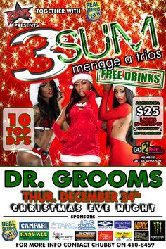 Partygrenada.com: Starboyz Annual '3 SUM FREE DRINKS' Fete Christmas Eve @ Dr. Grooms
