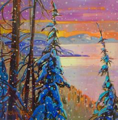 Stephanie Gauvin is a contemporary landscape painter, a Signature member of the Federation of Canadian Artists out of British Columbia. Contemporary Landscape, Canadian Artists, British Columbia, Painting, Painting Art, Paintings, Painted Canvas, Drawings