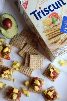 Triscuit Crackers Av