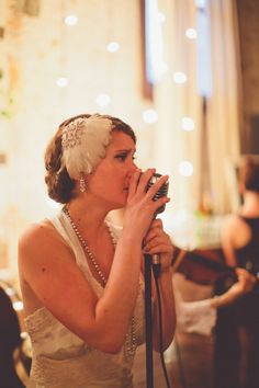 A Deliciously Art Deco Speakeasy Inspired Wedding Soiree from Chris Spira Photography