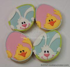 Cookievonster Easter cookies