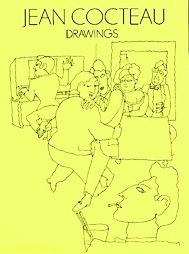 Drawings: 129 Drawings from Dessins by Jean Cocteau (1972, Paperback)