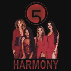FIFTH HARMONY RED PHOTOSHOOT 2017. THIS DESIGN AVAILABLE ON CUSTOM T-SHIRT, STICKER, PHONE CASE, AND 20 OTHER PRODUCTS. CHECK THEM OUT HARMONIZERS!