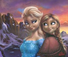 Sisters of Arendelle - by James Mulligan