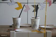 Teepee party - teepee mugs :)
